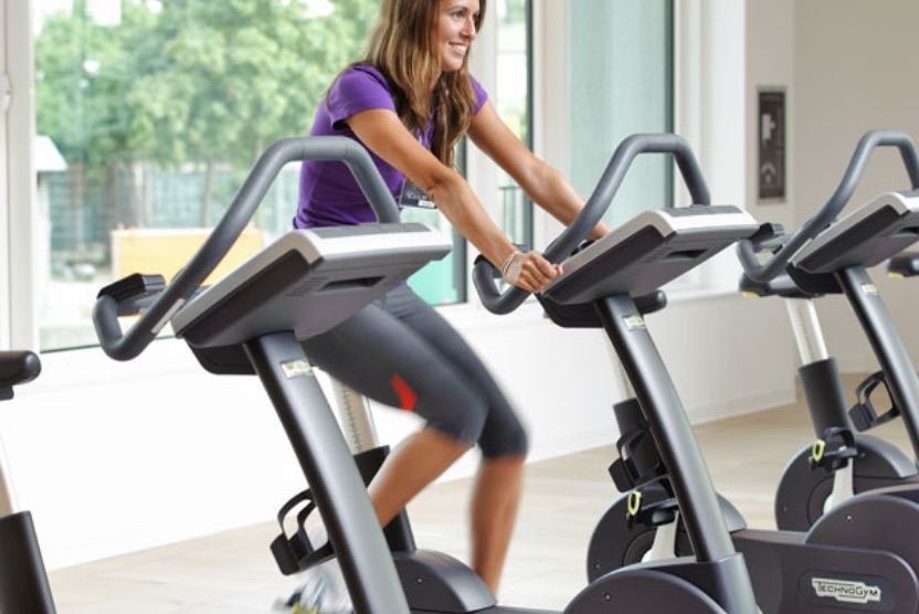 Cyclette fitness