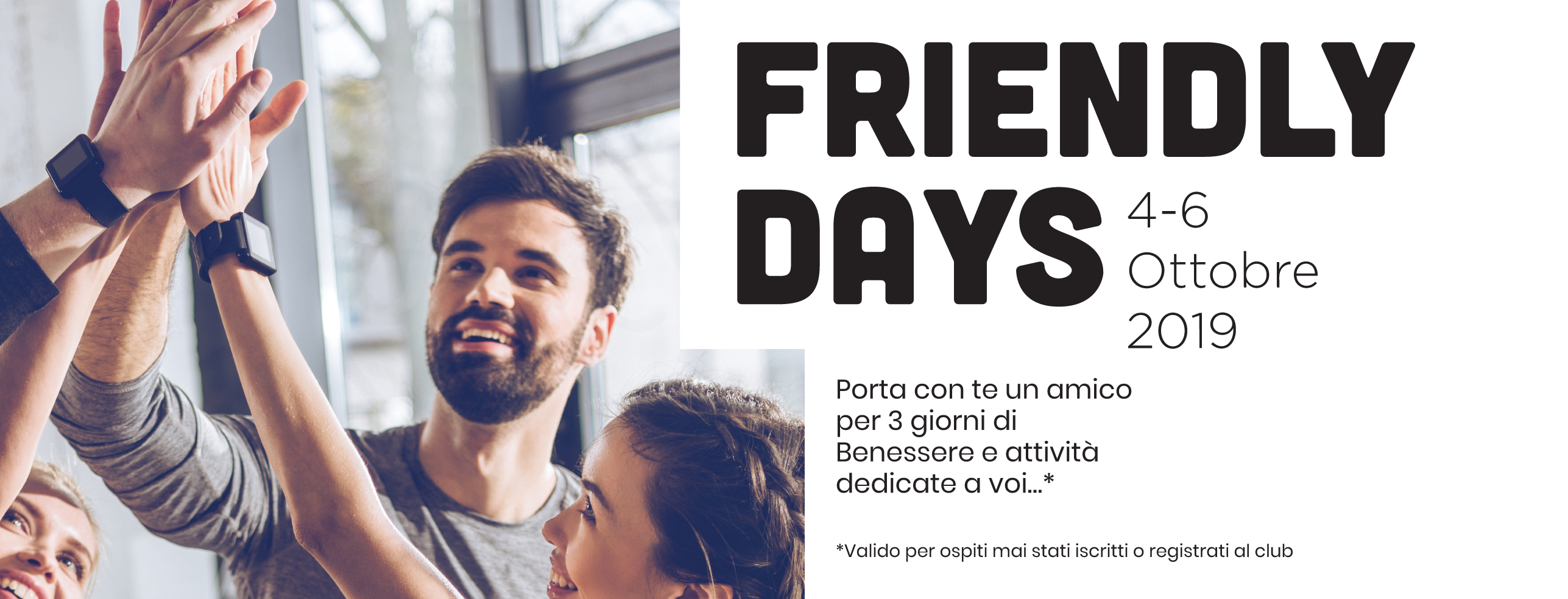 Friendly Days  4-6 Ottobre 2019 1