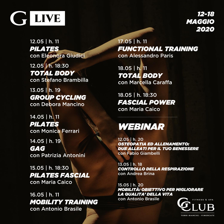 GLive 12-18 Maggio